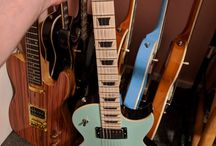 Gabor Szakacsi guitars collection_1
