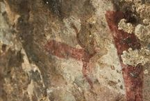 Rock Art / Bushman Rock of the Southern Drakensberg , South Africa
