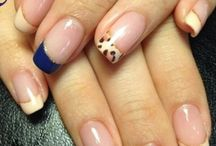 French tips with different design