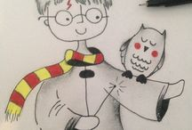 Skizzen Harry Potter Stuff
