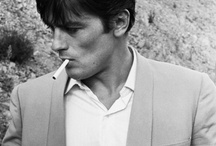 Alain Delon / a real man