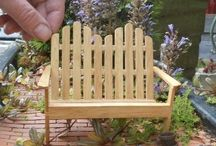 Mini garden furniture