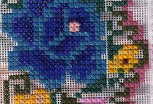 bordados yucatecos de hilo contado