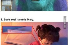 Disney/Pixar / by Julia Martin