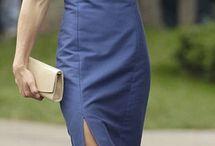 vestido kate azul