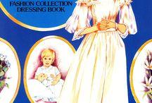 Princess Diana Paper Dolls / 1984 Princess Diana Paper Doll Set
