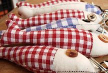 Fabric Fish / I just like DIY fabric fish I found on Pinterest,