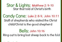 Christmas bible lessons and crafts