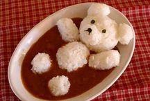 rýže / Netradiční servírování