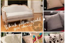 Style Game -  Pillows for the Christopher Knight Home Westerville Weathered Loveseat / Which set of pillows would you choose?