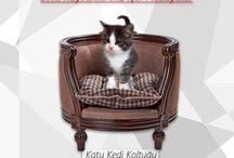 Evcil Hayvan Koltukları / Evcil Hayvanlar İçin Ürettiğimiz El İşçiliği Özel Ürünler