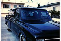 Old school trucks