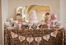 Candy bar/Dessert table