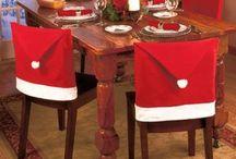 Fundas Para Sillas navideñas