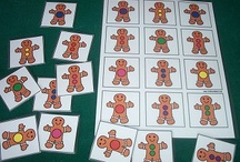 Kindergarten - Gingerbread / Ideas for gingerbread unit