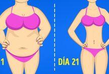 ejercicios glúteos, abdomen y brazos