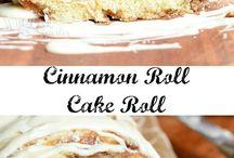 Cake rolls, jelly rolls