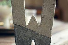 Deko aus Beton DIY
