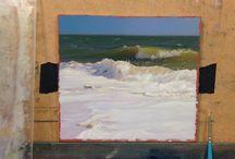 Coastlines, seascapes, beaches, waves