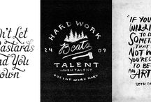 Creative Quotes / Inspirational quotes that get us in the zone.