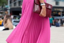 How to wear pink / Color