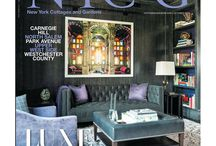 """New York Cottages & Gardens: Eric Cohler Design Oct 2015 / New York Cottages & Gardens: October 2015 issue """"Inside a Modern Art-Filled Family Home"""" http://www.cottages-gardens.com/New-York-Cottages-Gardens/October-2015/Park-Avenue-Duplex-Eric-Cohler-Tony-Klein/. - Designers Eric Cohler and Tony Klein from Eric Cohler Design and Stephen Fanuka """"Contractor to the Stars""""  Photography by Fran Parente Photography"""