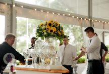 Sunny Soiree at Glen Foerd Estate / Wedding designed by La Petite Fleur http://www.lapetitefleuronline.com  Venue: Glen Foerd on the Delaware Caterer: Jamie Hollander Catering