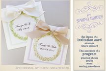 Invitations&Stationary