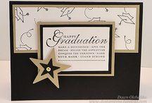 Graduation Card Ideas / Inspiration for making graduation cards