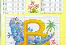 cross stitch ABC