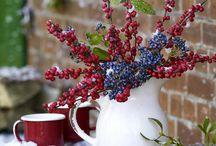 winter, winter decorations,  zimowe dekoracje