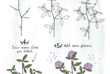 Kuinka piirtää kukka