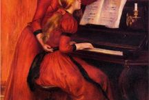 Music and Art / Art with a strong musical connection: Musical depictions in works of Art; or Art with or by musicians.