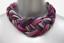 Jewelry/Textile / I love fabric, lots of possibilities for textile jewelry.  / by Anita Bolyard
