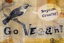 "Vegan art & life / ""My body will not be a tomb for other creatures."" ~ Leonardo Da Vinci"