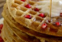 Wonderful Waffles / Make it fresh with Oster® Kitchen's favorite waffle recipes!