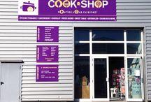Nos magasins / Les magasins cook-shop