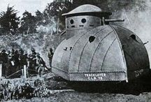 strange tanks design ever made... / strange tanks design at Pre-WWI