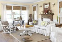 Living Room / by Shara from Palmettos and Pigtails