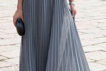 plisse dresses
