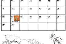 Calendriers.