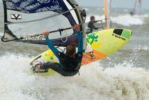 wind surfen