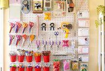 craftroom/workspace / by dragonwoman