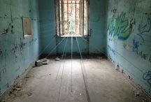 Artwork karin gerfen / Wire installations ON location
