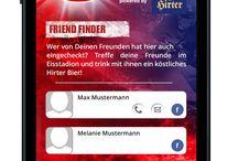 KAC Check-In App / Im September 2013 hat WEBWERK die KAC Check-In App powered by Hirter Bier vorgestellt. Die App ermöglicht den Eishockeyfans ein Check-In in allen 12 Liga-Eishallen.