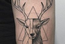 Hirsch Tattoo