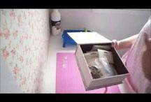 Vídeo para fazer caixa bem casado