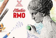 Studio RMO / Studio RMO is een tentoonstelling én een tekenatelier. Je kunt er de kunst van de oude Grieken bewonderen en als tekenaar aan de slag gaan. In Studio RMO sta je oog in oog met gipsen replica's van beroemde Griekse beelden uit de oudheid.
