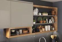 Kitchen shelving and unit size