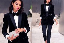 Tuxedo and suit